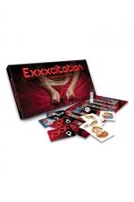 Jeu EXXXcitation - Un jeu stimulant pour couple, o� le gagnant sera celui ou celle qui saura r�sister le plus longtemps possible � l'appel de l'orgasme. EXXXcitant !