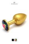 Rosebud Aluminium Gold Medium - L'incontournable Rosebud Classique en version aluminium anodis� Or.