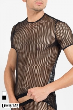 T-Shirt Hook - Tee-shirt sexy � large r�sille, pour exhiber vos muscles avec style !